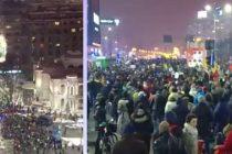 Protest cu peste 50.000 de oameni in Bucuresti. Manifestatii si in principalele orase si in diaspora