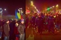 PROTEST IN BUCURESTI IMPOTRIVA MODIFICARILOR LA CODUL PENAL SI ORDONANTEI PRIVIND GRATIEREA