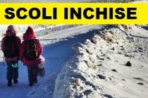 Scoli inchise in mai multe judete din tara din cauza ninsorilor si viscolului. Anunt facut de Ministerul Educatiei
