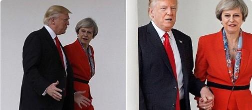 Presa internationala despre vizita Theresei May la Washington: In loc sa se impuna ca o mare putere, Marea Britanie devine sora cea mica a Americii