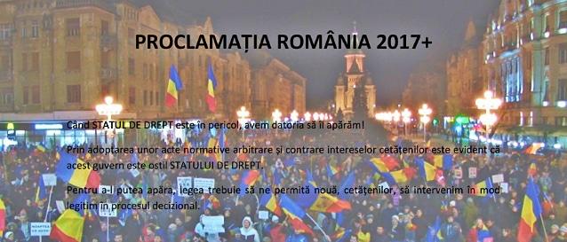Noua Proclamatie de la Timisoara ajunge pe masa presedintelui Iohannis. Printre prevederi: Fara parlamentari in Guvern si depolitizarea functiilor publice