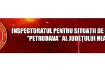 Inspectoratul pentru Situatii de Urgenta (ISU) cauta voluntari in judetul Neamt