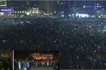 Protest cu 400.000 de oameni in Bucuresti si in tara, se cere demisia Guvernului. Este cel mai mare protest din ultimii 25 de ani