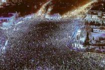 Proteste cu peste 10.000 de oameni in Bucuresti si in tara din cauza modificarilor la Codul de Procedura Penala