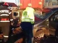 Accident de microbuz la Ploiesti, cinci ambulante chemate pentru interventie