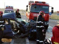 Politista de la IPJ Teleorman, moarta intr-un accident produs la Alexandria. Colegul ei este ranit grav