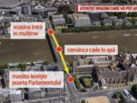 Andreea Cristea, romanca ranita grav in atacul de la Londra, filmata cand a cazut de pe Westminster Bridge