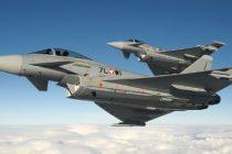 Avioane de vanatoare din Marea Britanie vor fi in misiuni de politie aeriana la Baza Militara de la Mihail Kogalniceanu