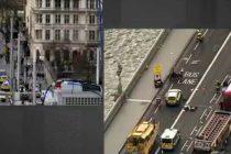Atac la Londra. O masina a intrat intr-un grup de oameni pe Westminster Bridge, cinci morti si 40 de raniti