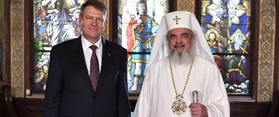 Presedintele Iohannis si patriarhul Daniel au avut o discutie privata la Resedinta Patriarhala