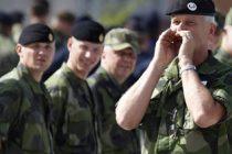 Serviciul militar obligatoriu a fost reintrodus in Suedia, pe fondul evolutiei situatiei de securitate