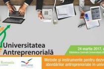 Metode si instrumente pentru dezvoltarea abordarilor antreprenoriale in universitati