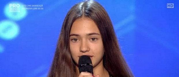 VICTORIA LEUCA, ROMANII AU TALENT DIN 3 MARTIE 2017. Fetita din Portugalia a uimit juriul