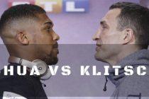BOX PE WEMBLEY, LONDRA 29 APRILIE 2017. LIVE. Klitschko vs Joshua si Simion vs Quigg
