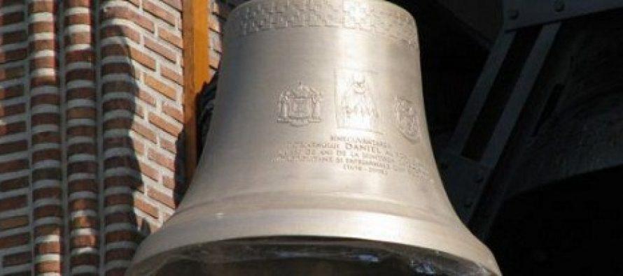 Clopotul de la Catedrala Neamului este cel mai mare din Europa, are 25 de tone si a costat aproape o jumatate de milion de euro