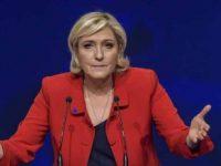 Marine Le Pen a anuntat ca se suspenda de la presedintia Frontului National si a lansat noi atacuri la adresa lui Emmanuel Macron