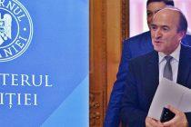 Tudorel Toader: Luni voi posta raportul de activitate dupa 2 ani de mandat la Ministerul Justitiei