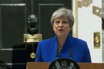 MAREA BRITANIE. Theresa May a anuntat oficial ca va forma un guvern stabil, dupa ce a avut o intrevedere cu Regina Elisabeta