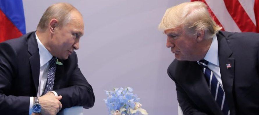Donald Trump ar fi ascuns informatii legate de intalnirile cu Vladimir Putin. The Washington Post: Trump a facut tot ce era omeneste posibil ca detaliile convorbirilor sa nu se afle