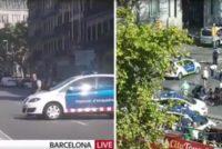 Atac terorist la Barcelona, politia anunta morti si raniti. O furgoneta a intrat in multime, ulterior s-a inregistrat o luare de ostatici intr-un bar