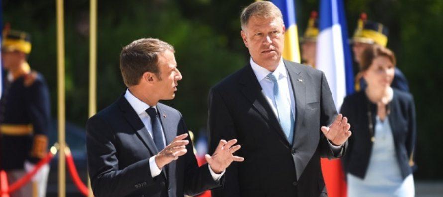 Macron a declarat joi, dupa intalnirea cu Klaus Iohannis: Sistemul actual este daunator si pentru Romania si pentru Europa