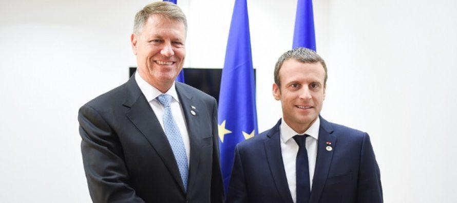 Emmanuel Macron, in vizita in Romania. Presedintele Frantei se intalneste cu Iohannis si Tudose