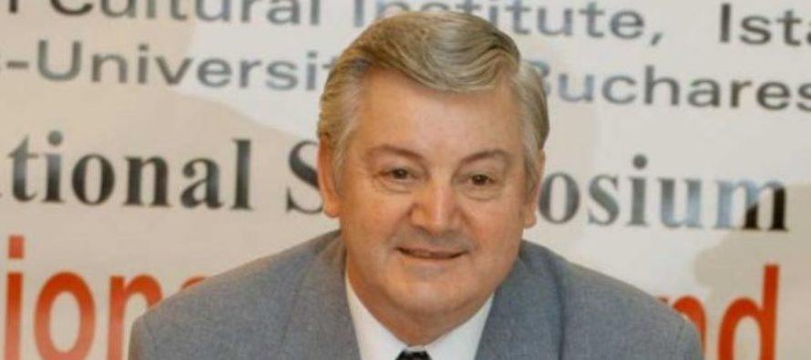 Istoricul Mihai Maxim a murit la varsta de 74 de ani