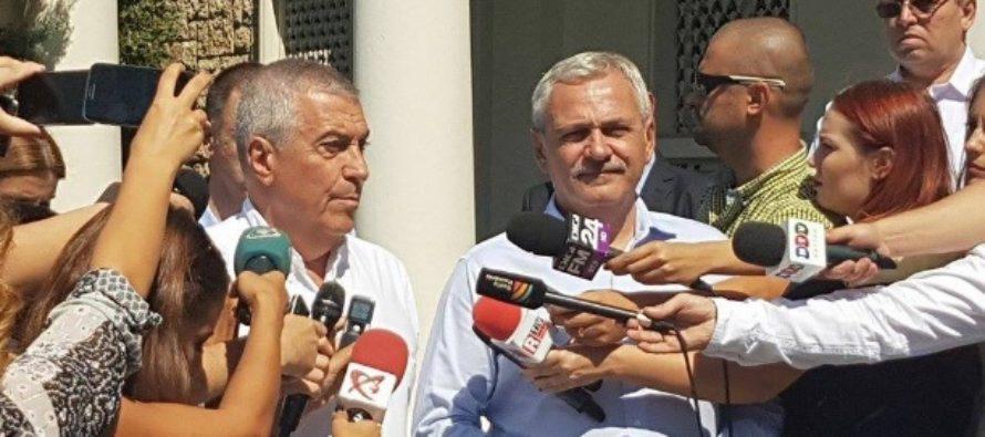 Dragnea si Tariceanu au sesizat CCR cu privire la un posibil conflict de interese intre Parlament si ministerul Public