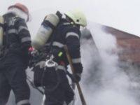 Incendiu la un depozit din Bucuresti situat pe B-dul 1 Decembrie