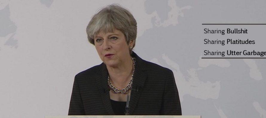Theresa May a cerut la Florenta ca Marea Britanie sa aiba o perioada de tranzitie de doi ani dupa Brexit