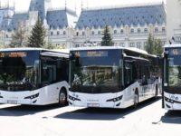 Abonamente unice si bilete de calatorie pe perioade limitate in transportul public din Iasi