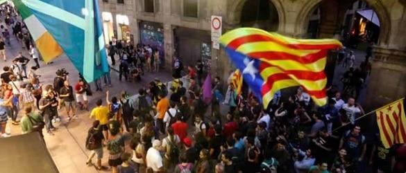 Parlamentul de la Barcelona a votat independenta regiunii Catalonia fata de Spania