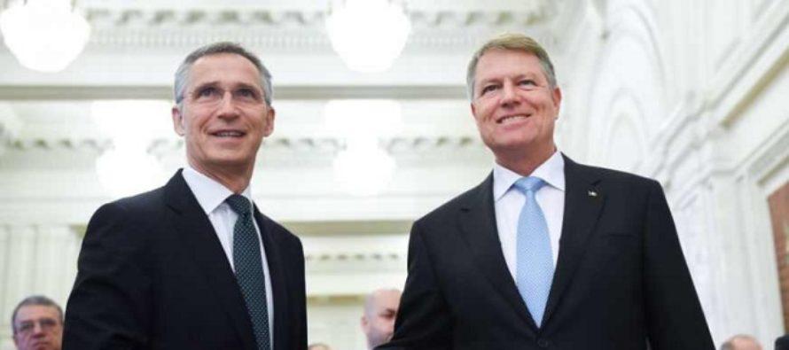 Secretarul general al NATO Jens Stoltenberg se intalneste cu presedintele Iohannis, cu premierul si cu ministrul Apararii