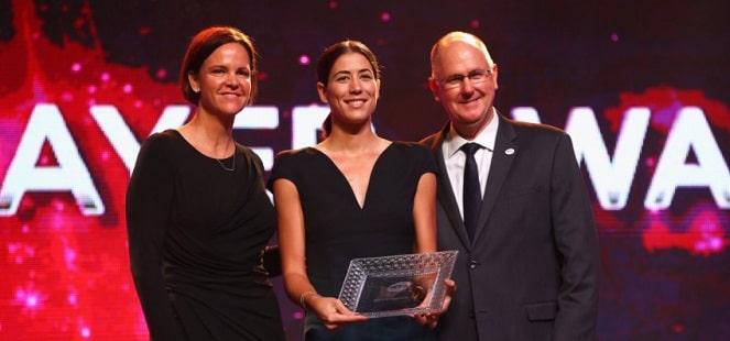 """Garbine Muguruza a fost desemnata de WTA """"jucatoarea anului 2017"""""""