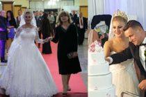 Lucian Morar, primarul din Ulmeni, a facut nunta de pomina cu Ioana Pricop. 3.000 de invitati au petrecut in 7 restaurante diferite si au fost in direct la TV