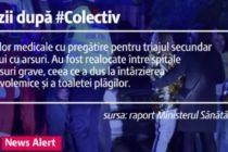 Nereguli grave dupa #Colectiv. Un raport atribuit Ministerului Sanatatii arata ca autoritatile au refuzat transferul in strainatate, iar infectiile nosocomiale nu au fost trecute in fisele pacientilor
