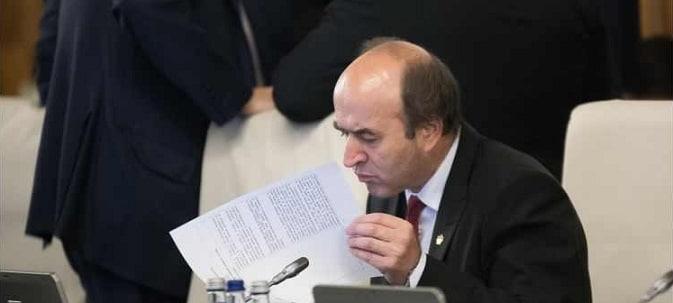 Ministrul Justitiei Tudorel Toader