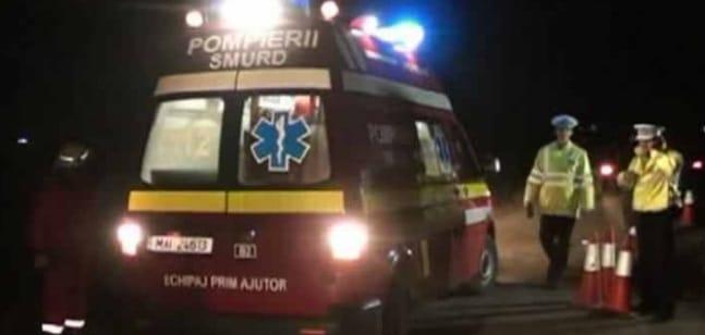 Accident tragic cu masina Dunarea Calarasi la Drajna Noua, 2 morti si un ranit in coma