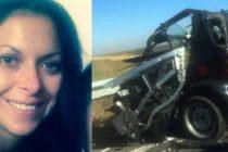 Aurelia Radulescu, o tanara din Rosiorii de Vede, s-a sinucis provocand un accident rutier din cauza sotului care o maltrata