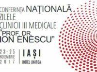 """Conferinta Nationala Zilele Clinicii III Medicale """"Prof. Dr. Ion Enescu"""" are loc intre 23 si 25 noiembrie la Iasi"""