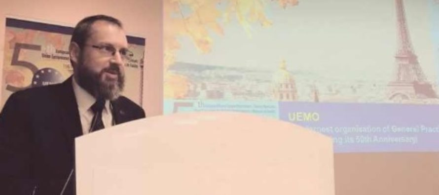 Medicul Calin Bumbulut a fost ales presedintele Uniunii Europene a Medicilor de Familie (UEMO)