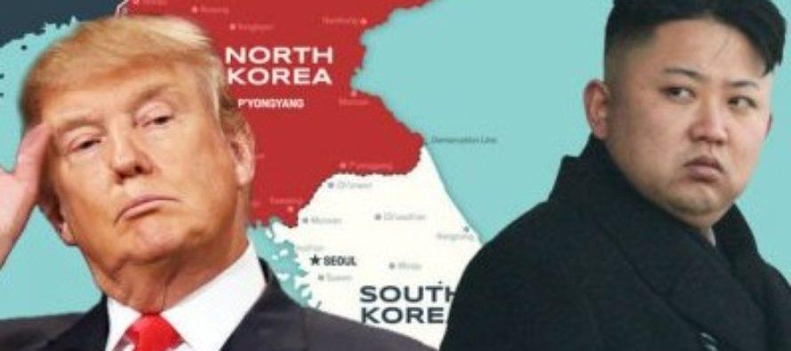 """Coreea de Nord a lansat o racheta balistica de la Pyongsong, la sud de Phenian, catre est. Trump a fost informat """"in timp ce racheta era inca in aer"""""""