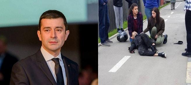 Radu Vasilica, deputatul ranit intr-un accident de motocicleta din Arges, este in stare grava la Floreasca si i-a fost amputat un picior