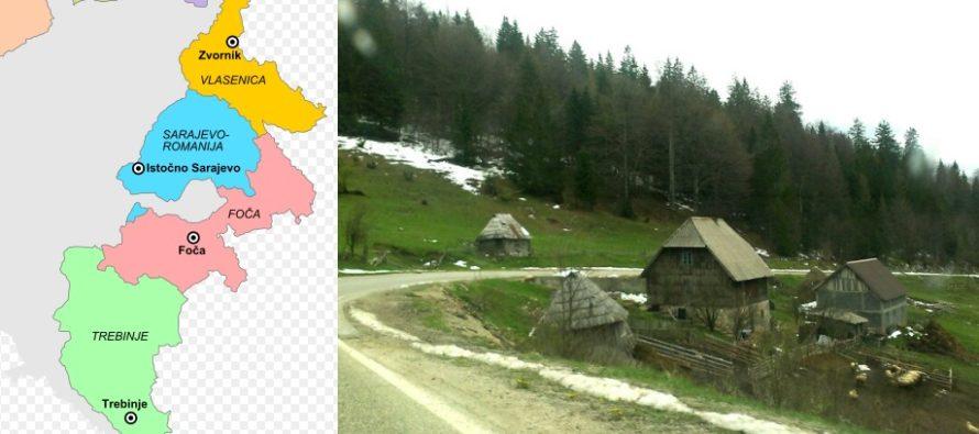 Nu departe de Romania se afla o alta Romanie. Regiunea Romanija din Bosnia este populata cu vlahi care vorbesc o romana veche, similara celei vorbite in Romania in sec. X-XI