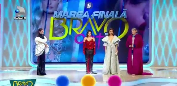 """Castigatoarea """"Bravo ai Stil"""", editia din 17 decembrie 2017, este Iuliana."""