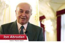 Actorul Ion Abrudan a incetat din viata de Craciun. Fiica sa: L-am vazut pe tata murind de cateva ori pe scena, parca a vrut sa ne pregateasca