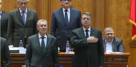 Iohannis la sedinta solemna din Parlament: Mihai I a fost un monarh constitutional. E datoria noastra sa aparam mostenirea Regelui Mihai