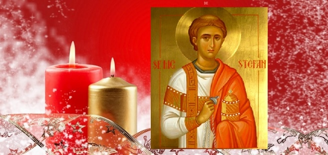 Sfantul Stefan, sarbatorit pe 27 decembrie, in a treia zi de Craciun. Traditii si obiceiuri in aceasta zi sfanta