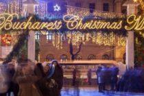 S-au aprins luminitele de Craciun in Bucuresti, s-a deschis si Targul de Craciun din Piata Constitutiei