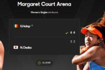 SIMONA HALEP a invins-o pe Naomi Osaka si s-a calificat in sferturi de finala la AUSTRALIAN OPEN